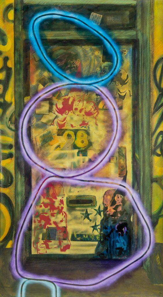 The Balancing Act Door by de la Haba